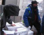 Россельхознадзор пресек попытку незаконного ввоза в Россию крупной партии мясной продукции неизвестного происхождения и сомнительной безопасности